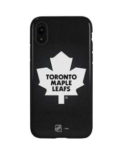 Toronto Maple Leafs Black Background iPhone XR Pro Case