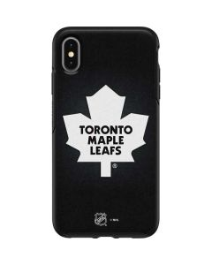 Toronto Maple Leafs Black Background Otterbox Symmetry iPhone Skin