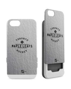 Toronto Maple Leafs Black Text iPhone 6/6s Wallet Case