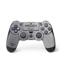 Toronto Maple Leafs Black Text PS4 Controller Skin