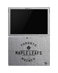 Toronto Maple Leafs Black Text Surface Pro 6 Skin