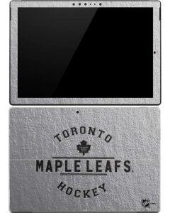 Toronto Maple Leafs Black Text Surface Pro (2017) Skin