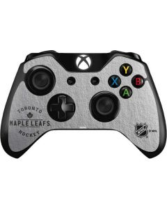 Toronto Maple Leafs Black Text Xbox One Controller Skin