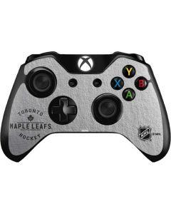 Toronto Maple Leafs Black Text Xbox One Controller Skin