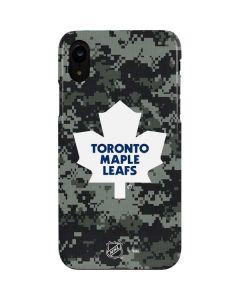 Toronto Maple Leafs Camo iPhone XR Lite Case