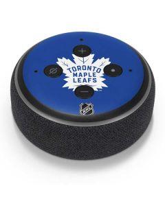 Toronto Maple Leafs Color Pop Amazon Echo Dot Skin