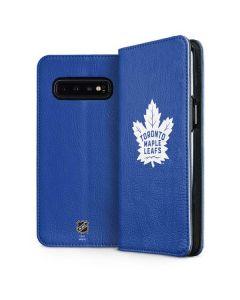 Toronto Maple Leafs Color Pop Galaxy S10 Plus Folio Case
