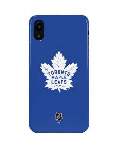 Toronto Maple Leafs Color Pop iPhone XR Lite Case