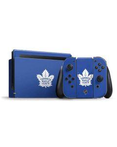 Toronto Maple Leafs Color Pop Nintendo Switch Bundle Skin