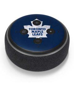 Toronto Maple Leafs Distressed Amazon Echo Dot Skin