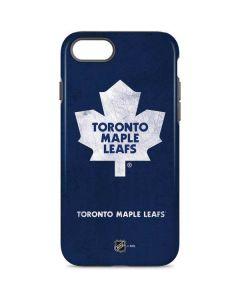 Toronto Maple Leafs Distressed iPhone 8 Pro Case
