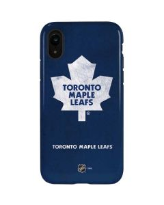 Toronto Maple Leafs Distressed iPhone XR Pro Case