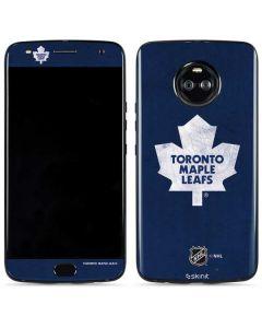 Toronto Maple Leafs Distressed Moto X4 Skin
