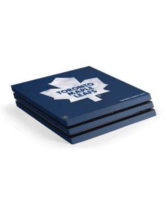 Toronto Maple Leafs Distressed PS4 Pro Console Skin