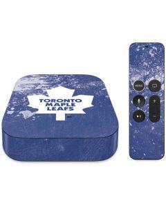 Toronto Maple Leafs Frozen Apple TV Skin