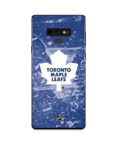 Toronto Maple Leafs Frozen Galaxy Note 9 Skin