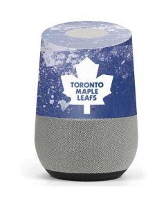 Toronto Maple Leafs Frozen Google Home Skin