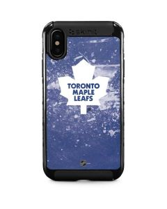 Toronto Maple Leafs Frozen iPhone X Cargo Case