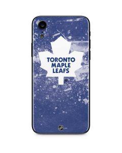 Toronto Maple Leafs Frozen iPhone XR Skin