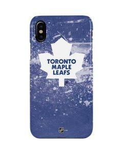 Toronto Maple Leafs Frozen iPhone XS Max Lite Case