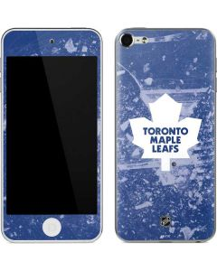 Toronto Maple Leafs Frozen Apple iPod Skin