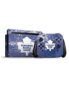 Toronto Maple Leafs Frozen Nintendo Switch Bundle Skin