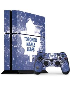Toronto Maple Leafs Frozen PS4 Console and Controller Bundle Skin