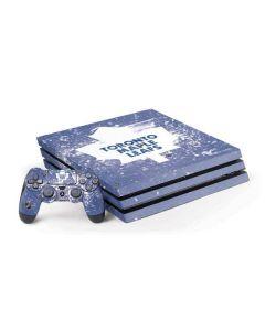 Toronto Maple Leafs Frozen PS4 Pro Bundle Skin