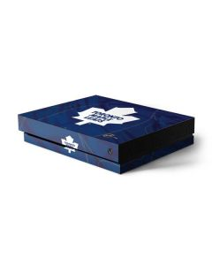 Toronto Maple Leafs Home Jersey Xbox One X Console Skin
