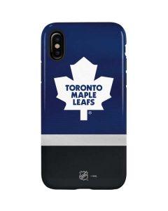 Toronto Maple Leafs Jersey iPhone XS Pro Case