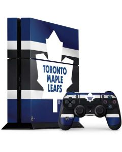 Toronto Maple Leafs Jersey PS4 Console and Controller Bundle Skin