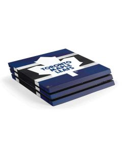 Toronto Maple Leafs Jersey PS4 Pro Console Skin
