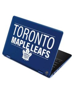 Toronto Maple Leafs Lineup Aspire R11 11.6in Skin