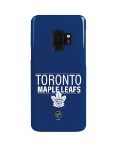 Toronto Maple Leafs Lineup Galaxy S9 Lite Case