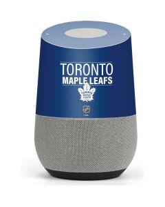 Toronto Maple Leafs Lineup Google Home Skin