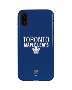 Toronto Maple Leafs Lineup iPhone XR Pro Case