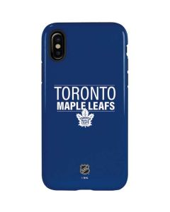 Toronto Maple Leafs Lineup iPhone XS Pro Case