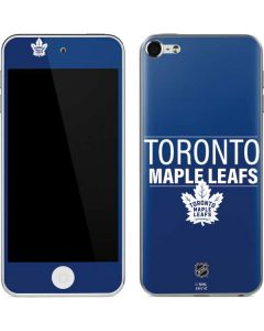 Toronto Maple Leafs Lineup Apple iPod Skin