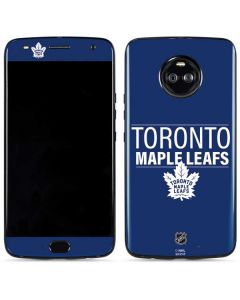 Toronto Maple Leafs Lineup Moto X4 Skin