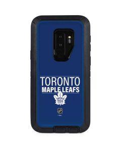 Toronto Maple Leafs Lineup Otterbox Defender Galaxy Skin