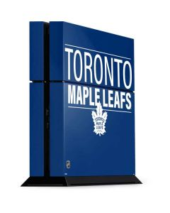 Toronto Maple Leafs Lineup PS4 Console Skin