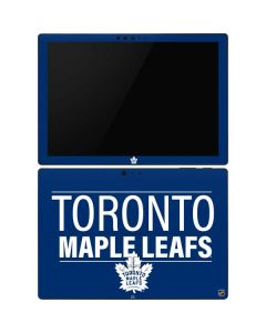 Toronto Maple Leafs Lineup Surface Pro 6 Skin