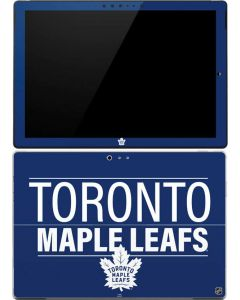 Toronto Maple Leafs Lineup Surface Pro (2017) Skin