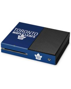 Toronto Maple Leafs Lineup Xbox One Console Skin