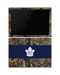 Toronto Maple Leafs Realtree Xtra Camo Surface Pro 6 Skin