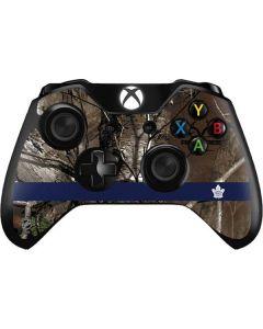 Toronto Maple Leafs Realtree Xtra Camo Xbox One Controller Skin