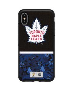 Toronto Maple Leafs Retro Tropical Print Otterbox Symmetry iPhone Skin