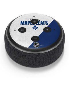 Toronto Maple Leafs Script Amazon Echo Dot Skin