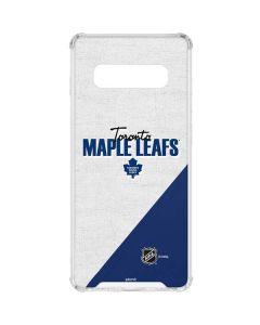 Toronto Maple Leafs Script Galaxy S10 Clear Case