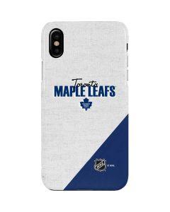 Toronto Maple Leafs Script iPhone XS Max Lite Case